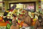 16-ம் நாளான இன்று ரோஸ் நிற பட்டு உடுத்தி ஏலக்காய் மாலையுடன் காட்சியளிக்கும் அத்திவரதர்!