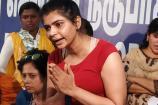 #Metoo பிரஸ் மீட்டில் சலசலப்பு: கைக்கூப்பியவாறு பாடகி சின்மயி விளக்கம்