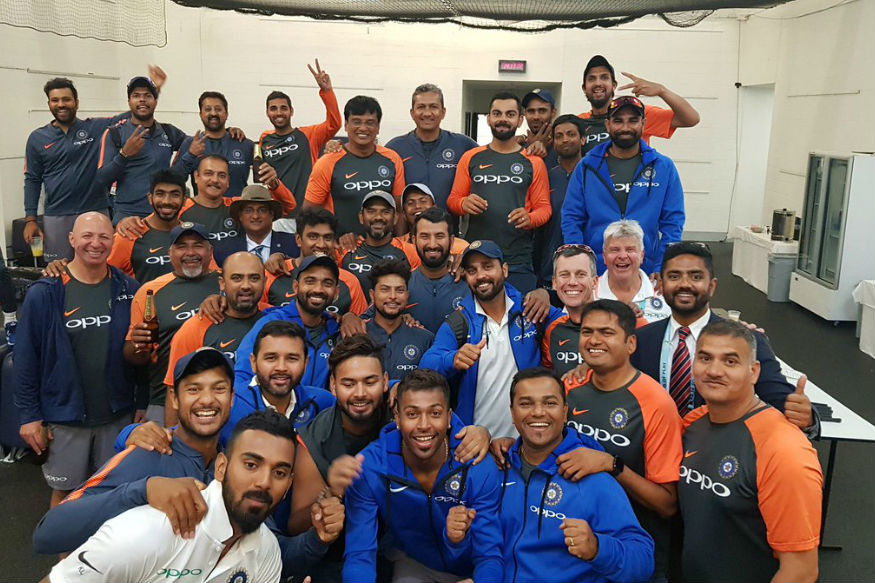 Indian Team Group Photo
