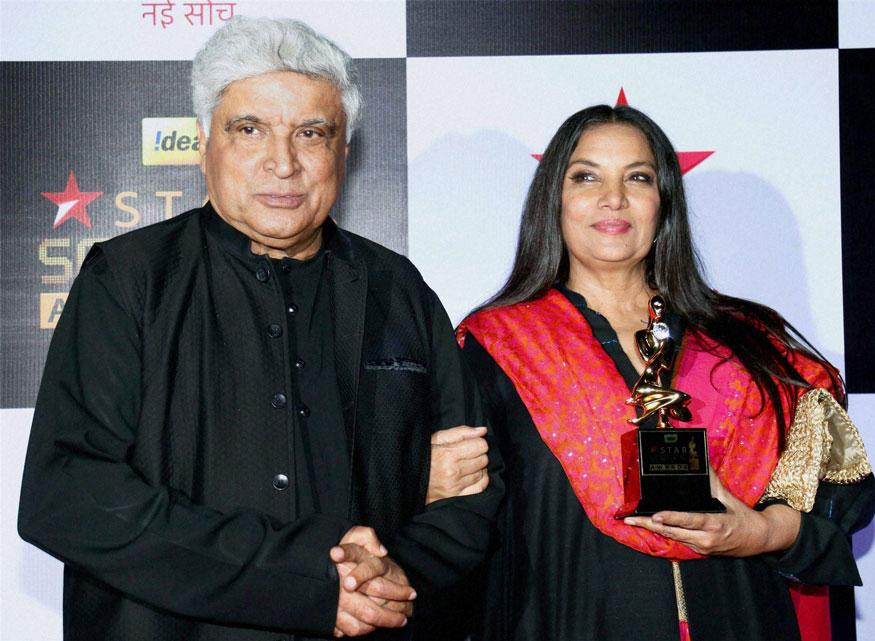 ஜாவட் அக்தர் மற்றும் ஷபானா அஜ்மி (Image: PTI)