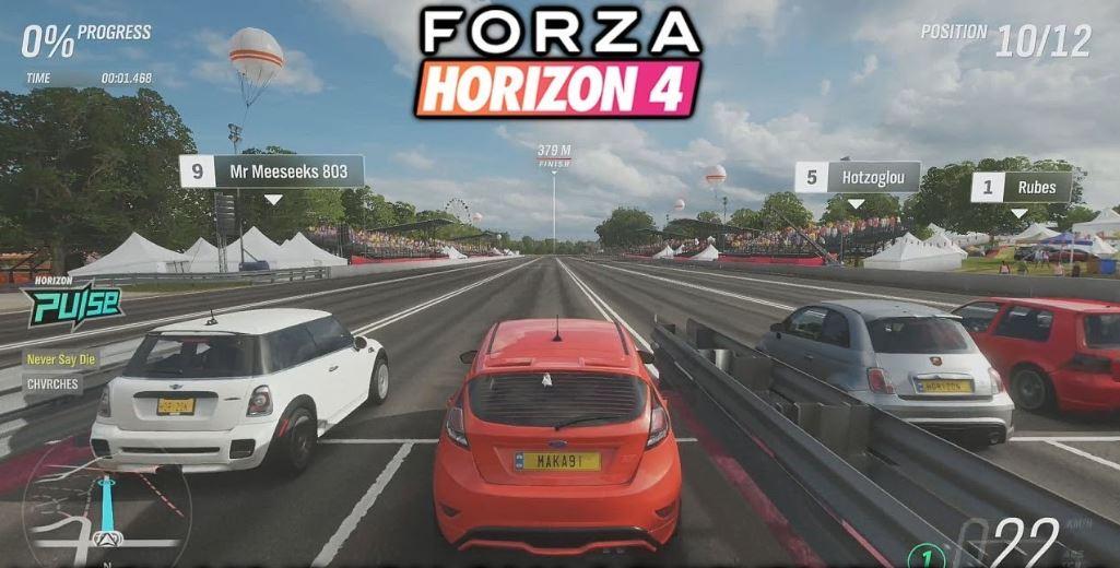 அசத்தலான சொகுசு கார்கள், ஐரோப்பிய காலநிலைகள், கார் ரேஸ், அட்டகாச பரிசு அறிவிப்புகள் என மாணவர்கள் மத்தியில் பிரபலமாக உள்ளது Forza Horizon 4.