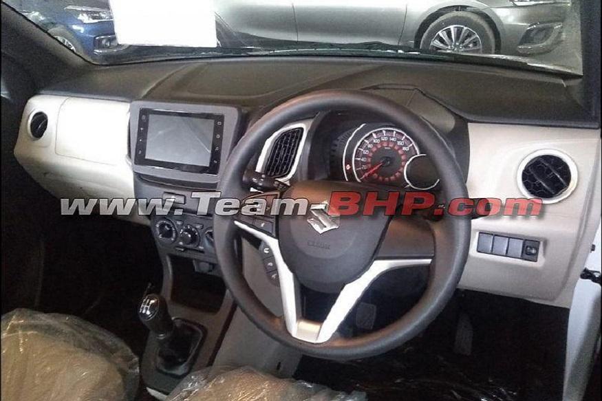NEW Wagon R காரின் முன்புற கேபின். (Image: News 18)