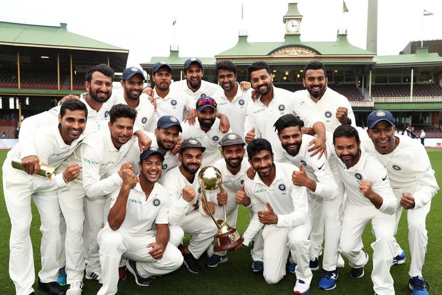 அண்மையில், நடந்து முடிந்த 4 போட்டிகள் டெஸ்ட் தொடரை இந்திய அணி 2-1 என்ற கணக்கில் கைப்பற்றி வரலாற்றுச் சாதனை படைத்தது. (Cricket Australia)