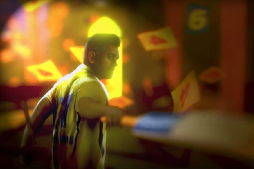 Dhoni CSK Motion Poster
