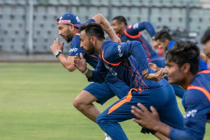 Mumbai Indians Practice
