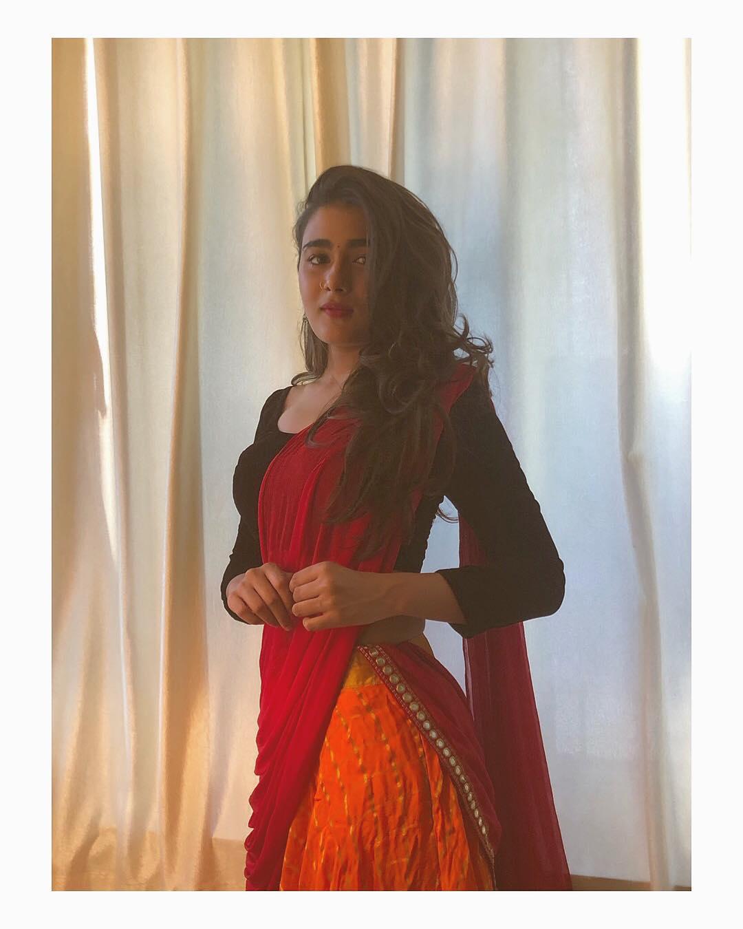நடிகை ஷாலினி பாண்டே. (image: Instagram)