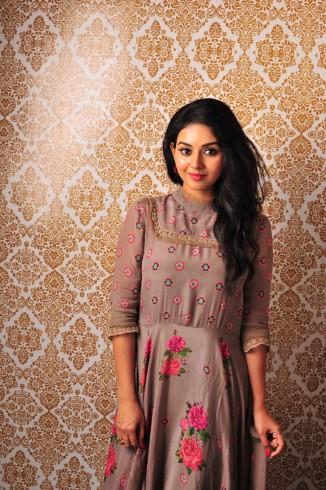 நடிகை வித்யா.