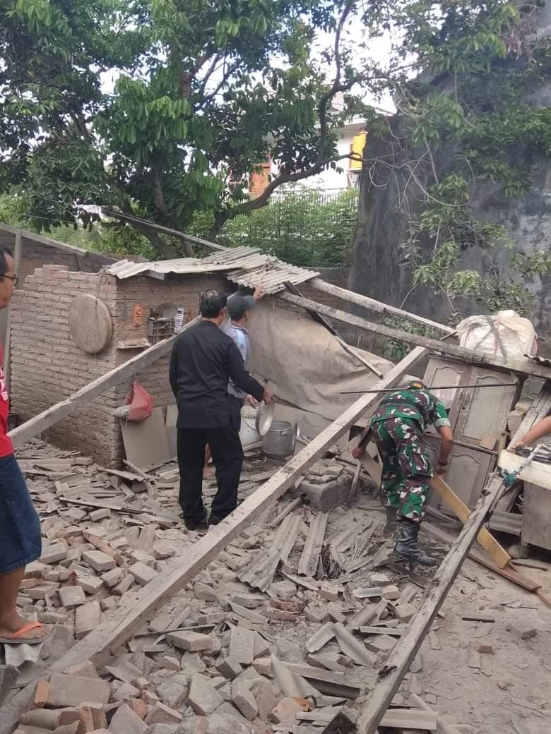 டென்பசார் இடத்தில் இருந்து 82 கிலோமீட்டர் தென்மேற்கு பகுதியில் 91 கிலோமீட்டர் ஆழத்தில் இந்த நிலநடுக்கம் ஏற்பட்டுள்ளது.(Photo : Twitter/BNPB Indonesia)