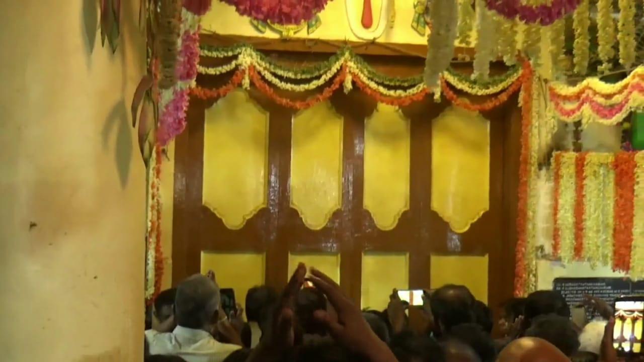 ஆகஸ்ட் 16-ம் தேதியுடன் பக்தர்களுக்கு தரிசனம் அனுமதி நிறைவடைகிறது.