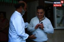 நடிகர் ரஜினிகாந்தை நேரில் சந்தித்து, தனது அரசியல் பயணம் குறித்து நடிகர் கமல் ஹாசன் தெரிவித்தார்.