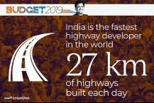 பட்ஜெட் 2019 - கிராமப்புற சாலைகளுக்காக ₹19 ஆயிரம் கோடி ஒதுக்கீடு
