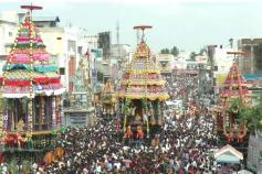திருவண்ணாமலை கோயிலில் தேரோட்டம்: லட்சக்கணக்கான பக்தர்கள் பங்கேற்பு