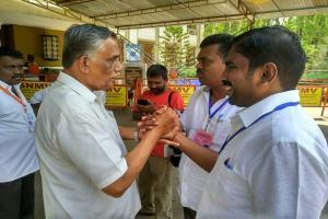 கோவை மக்களவைத் தொகுதியில் முன்னிலை வகிக்கும் பி.ஆர்.நடராஜன்!