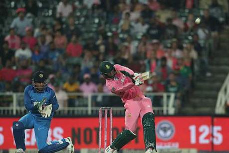 4-வது ஒருநாள் போட்டி: இந்தியா தோல்வி