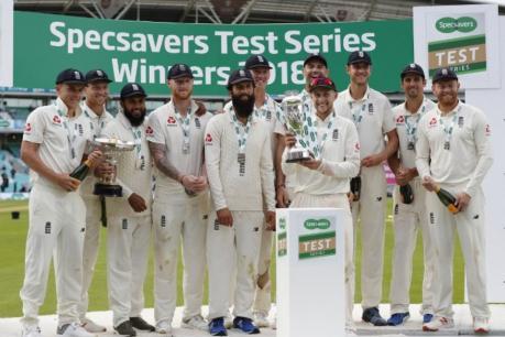 5-வது டெஸ்ட் கிரிக்கெட் போட்டி - இங்கிலாந்து வெற்றி