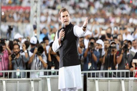 அரசியல் காரணங்களுக்காக இந்தியா பிளவுப்படுத்தப்படுகிறது: ராகுல்காந்தி