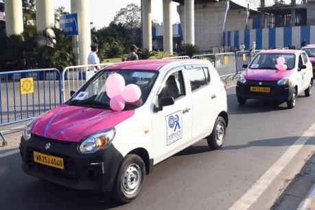கொல்கத்தாவில் தொடங்கிய பெண்களுக்கான 'பிங்க் கேப்(Cabs)' சேவை!