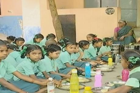 அரசு பள்ளி மாணவர்களுக்கு காலை உணவளிக்கும் அட்சயபாத்திரா!