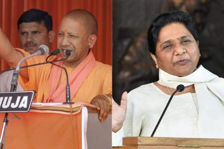 யோகி ஆதித்யநாத், மாயாவதிக்கு தேர்தல் ஆணையம் நோட்டீஸ்